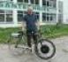 Pirmasis elektrinis dviratis ŠILUTĖJE