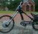 Elektrinis dviratis-chopper is