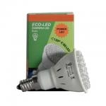 ECO-LED Lemputė 60 POWER LED JDR E14 120° šilta 240lm
