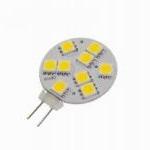 LED Lemputė 9 SMD LED 1.8W 12V DC/AC G4 120° šilta 144lm