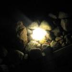 LED akmenys, LED sviecianti trinkele, LED trinkele, sviecianti trinkele- D150