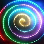RGB lanksti spalvas keičianti LED juosta - RGB 30 LED juosta 5050