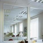ECOSUN - infraraudonųjų spindulių šildymo panelės (pakabinamoms luboms)