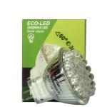 ECO-LED Lemputė 30 LED MR11 60° šilta 60lm