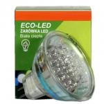 ECO-LED Lemputė 21 LED JCDR MR16 60° šilta 53lm