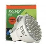 ECO-LED Lemputė 60 POWER LED JCDR MR16 120° šilta 240 lm