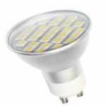 LED Lemputė 27 LED SMD GU10 120° šilta 390lm 4.5W
