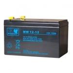 MW power AGM 12V 12Ah akumuliatorius