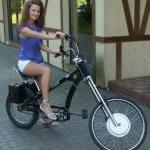 Elektro dviratis, Elektrinis dviratis, Chopper - neparduodamas crystalyte