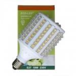 ECO-LED lemputė 128 LED Super Flux E27 360° šilta 1465lm
