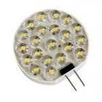 ECO-LED Lemputė 21LED 1.1W 12V G4 120° šilta 80lm