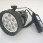 12W DOWNLIGHT TRACK LIGHT, WH, LED šviestuvai ant bėgelio WH 12W