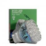 ECO-LED Lemputė 30 LED MR11 60° šalta 70lm