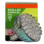 ECO-LED Lemputė 36 LED MR16 60° šalta 85lm