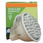 ECO-LED Lemputė 54 LED MR16 120° šalta 250lm