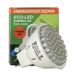 ECO-LED Lemputė 54 LED MR16 60° šilta 220lm