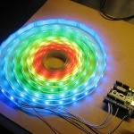 RGB lanksti spalvas keičianti LED juosta - RGB 60 LED juosta 5050