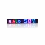 RGB25-5-K, 7 spalvu LED svieslente