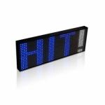 RGB25-6-K, 7 spalvu LED svieslente(44*124)