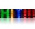 LED švieslentė 7 spalvų, serija RGB25-K,aukštis 22cm ,24cm ,44cm