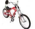 Elektrinis dviratis Chopper is